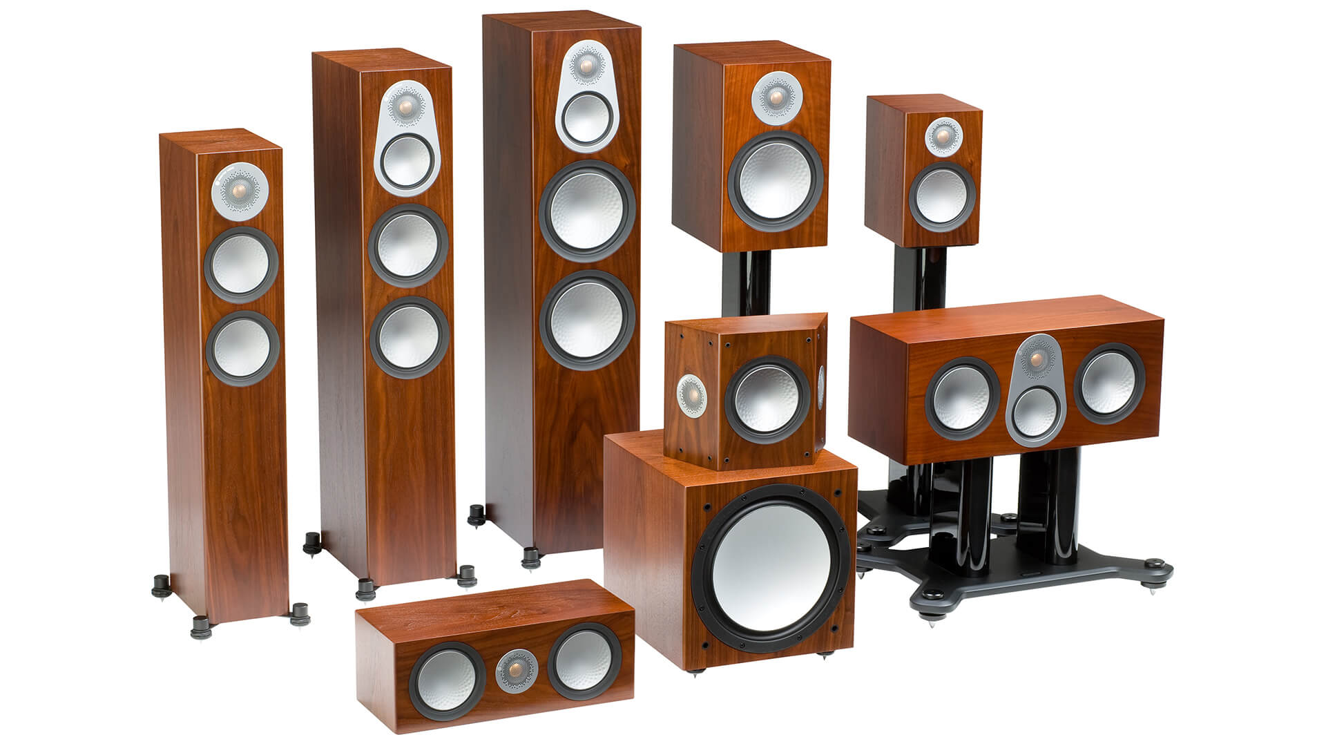 Monitor Audio Silver 6G Walnut