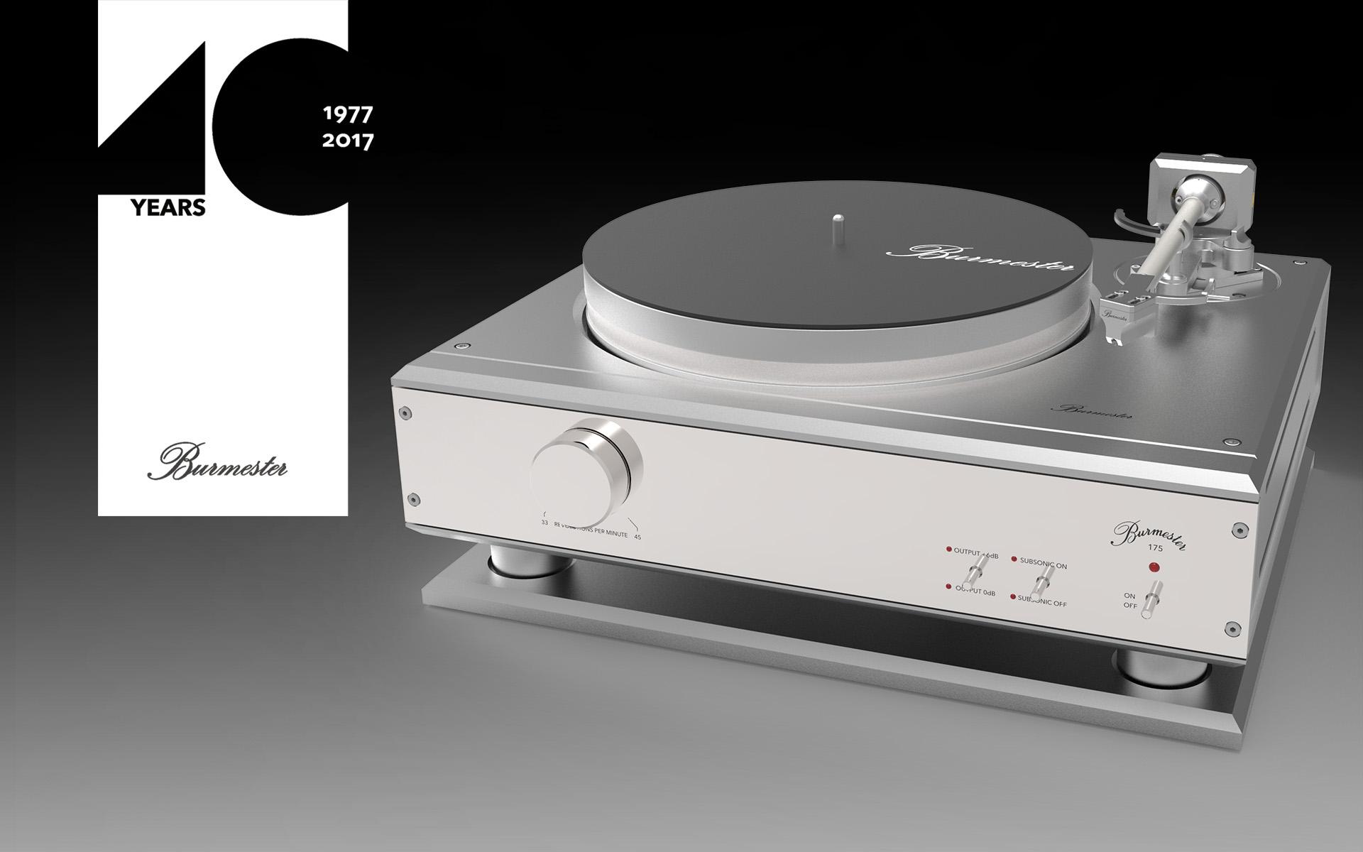 Проигрыватель виниловых дисков Burmester 175