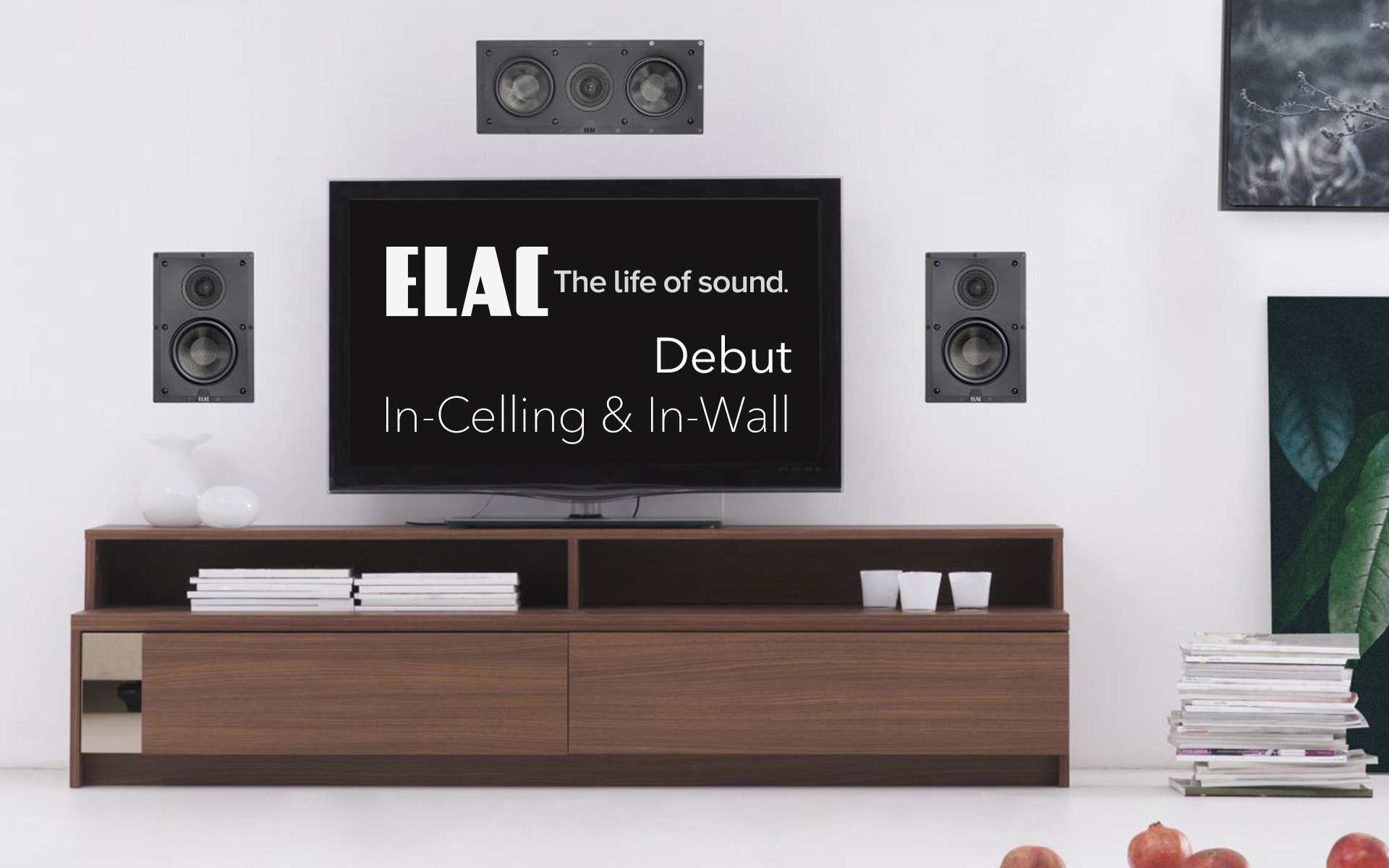 Встраиваемые акустические системы ELAC Debut