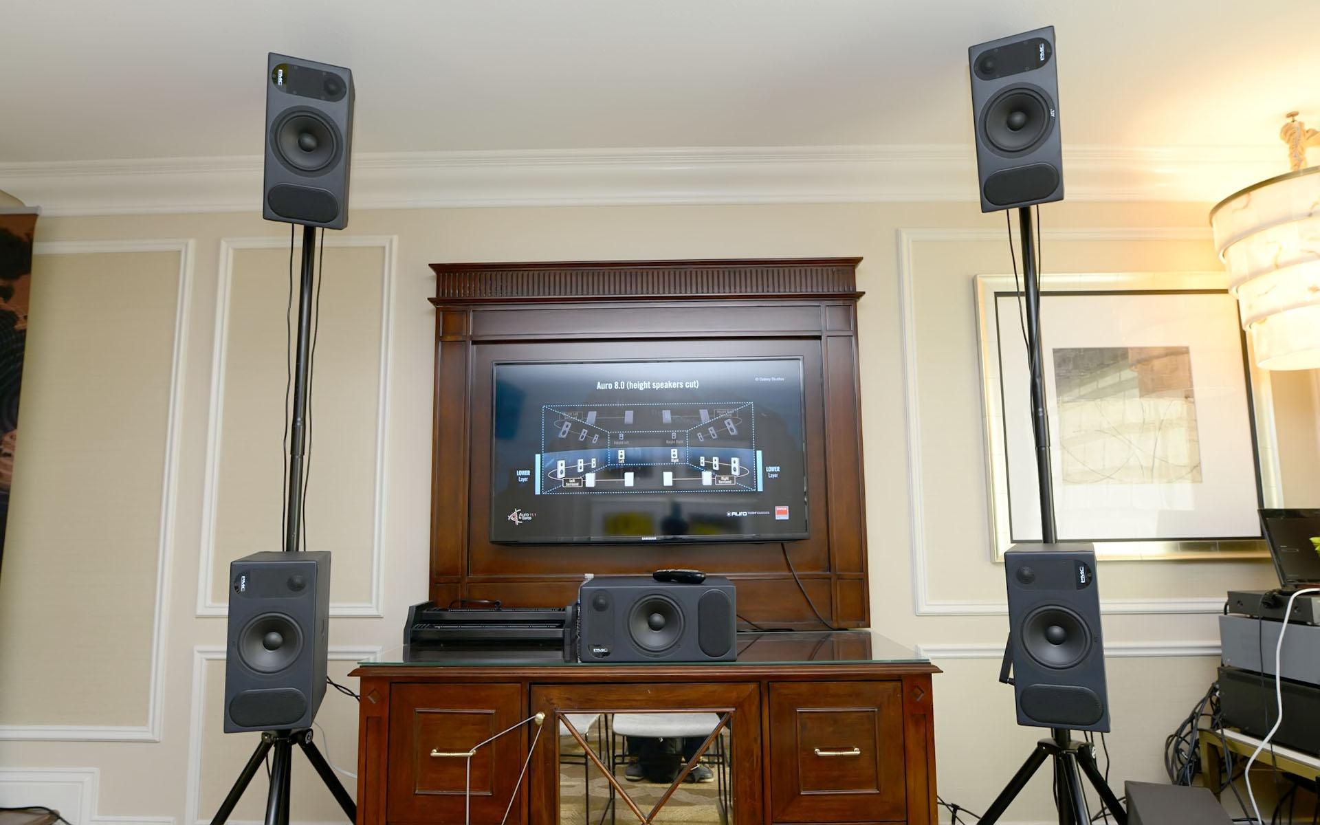 Система многоканального звучания Auro 3D