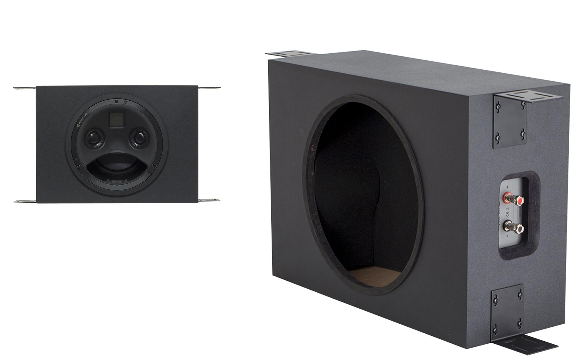 Монтажный бокс Monitor Audio PLIC-Box II обеспечит удобную и надёжную установку встраиваемой акустической системы