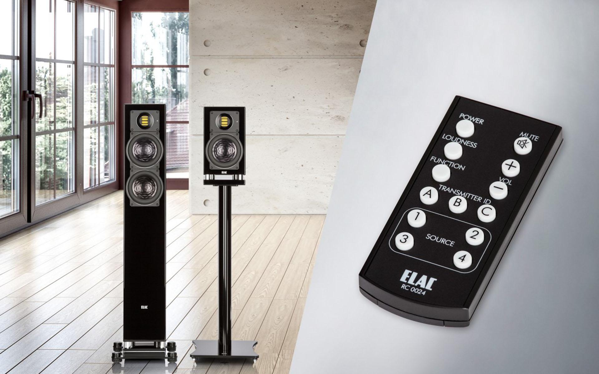 Передача сигнала без компрессии и без потерь отвечает требованиям усиления класса A/B: колонки ELAC AIR-X отличаются высочайшим качеством звучания
