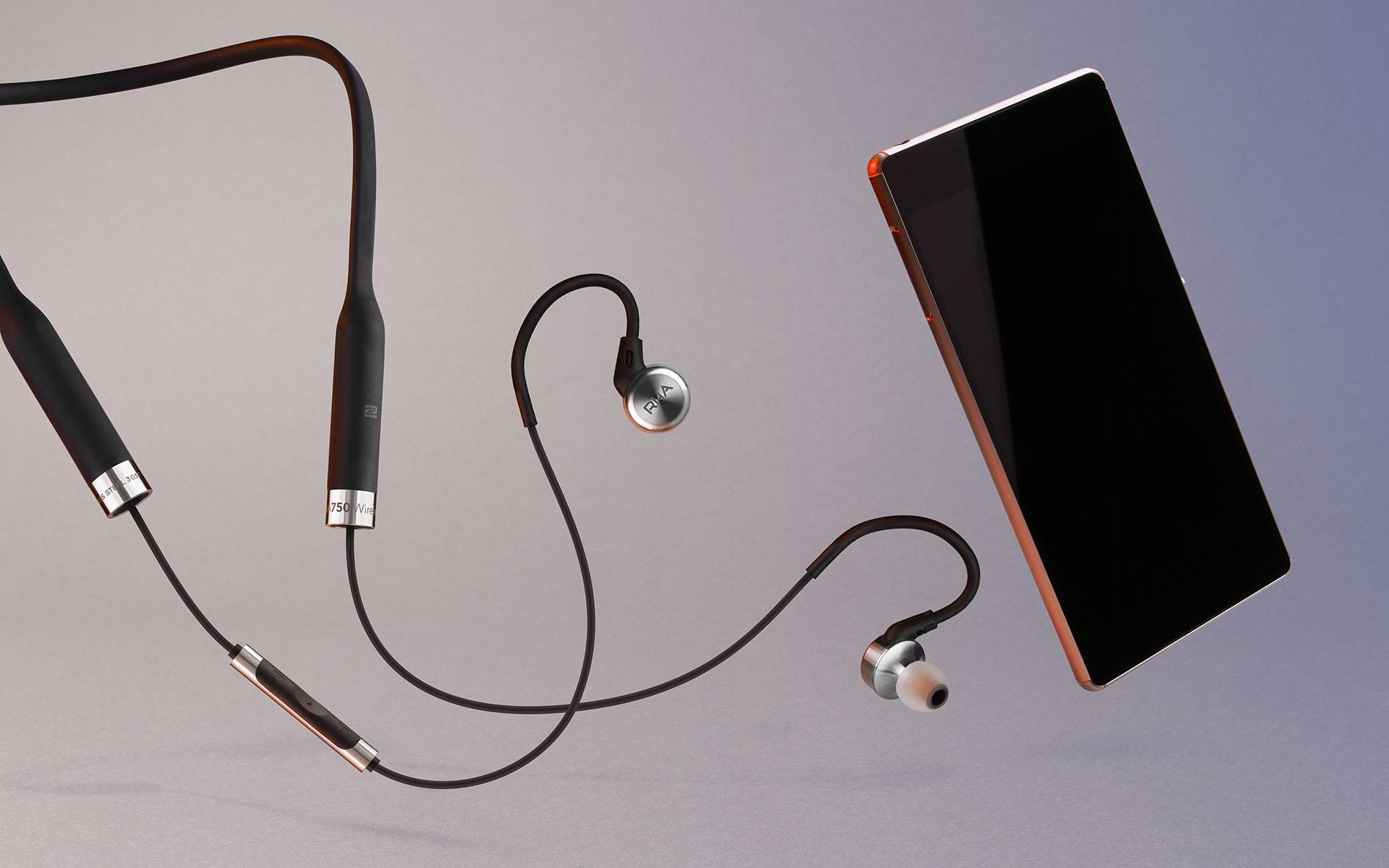 Беспроводные внутриканальные наушники RHA MA750 Wireless