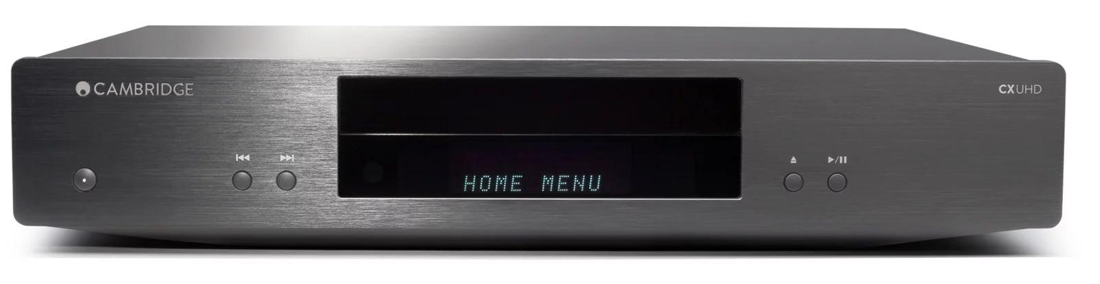 4K-плеер Cambrige Audio CXUHD - передняя панель