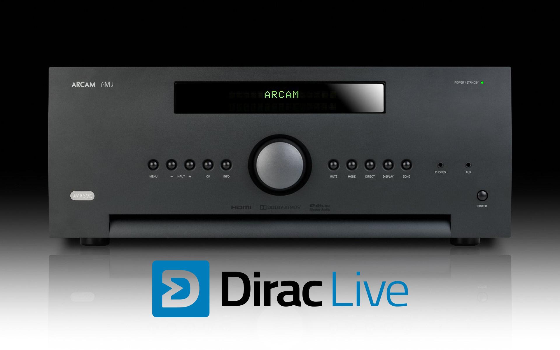 Dirac Live в багаже технологий AV-ресиверов и процессоров Arcam