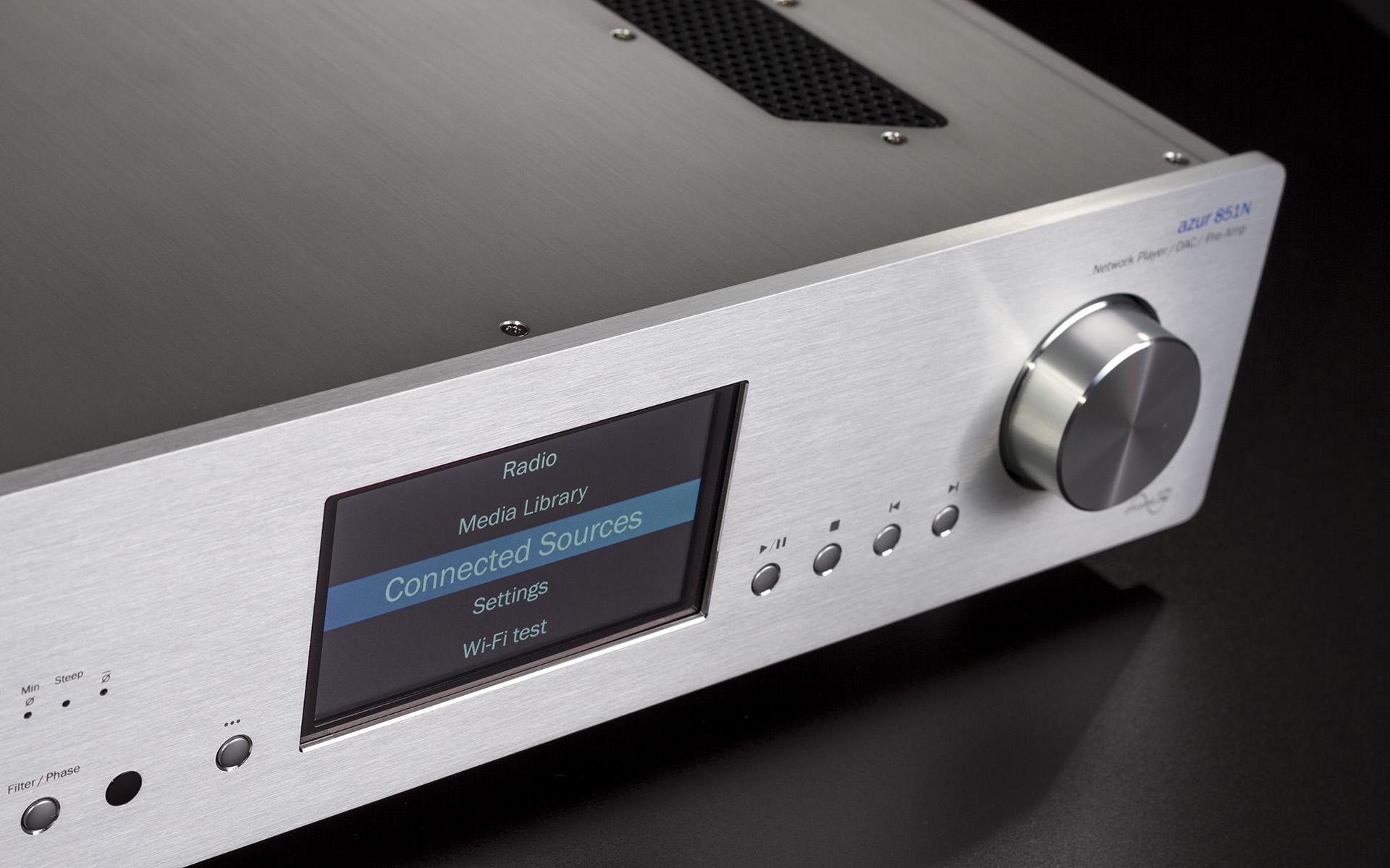 Универсальный сетевой аудиоплеер Cambridge Audio 851N