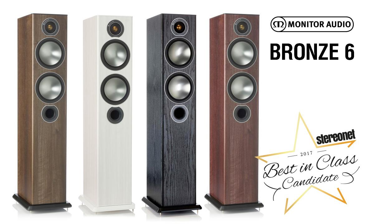 Monitor Audio Bronze 6 – лучшие колонки в своём классе