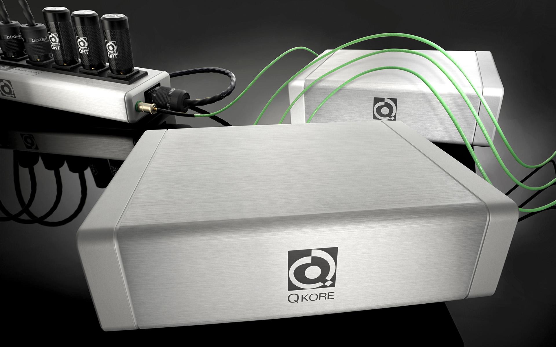 Серия Nordost QRT включает в себя гармонизаторы, кондиционеры и распределители питания для серьёзных Hi-Fi-систем