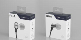 RHA MA390 Universal и RHA S500 Universal в новой упаковке