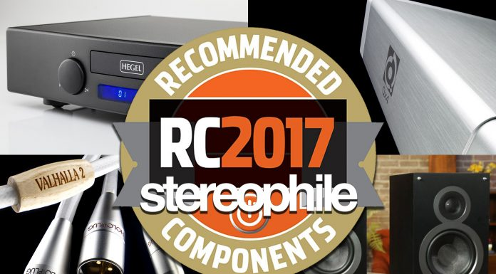 Stereophile Recommended 2017