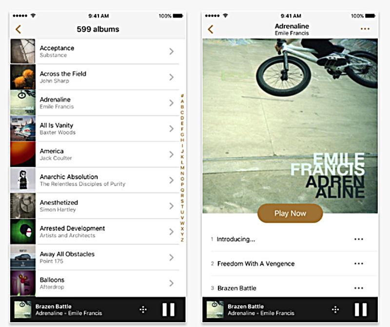 В новой версии ARCAM MusicLife интерфейс приложения стал ещё удобнее
