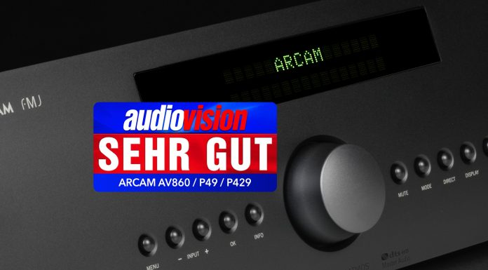 Arcam AV860 + P49 + P429