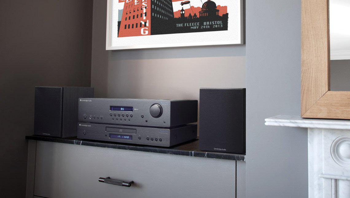 Музыкальная система, собранная из компонентов Cambridge Audio Topaz, поможет вам сделать первый шаг в мир настоящего Hi-Fi