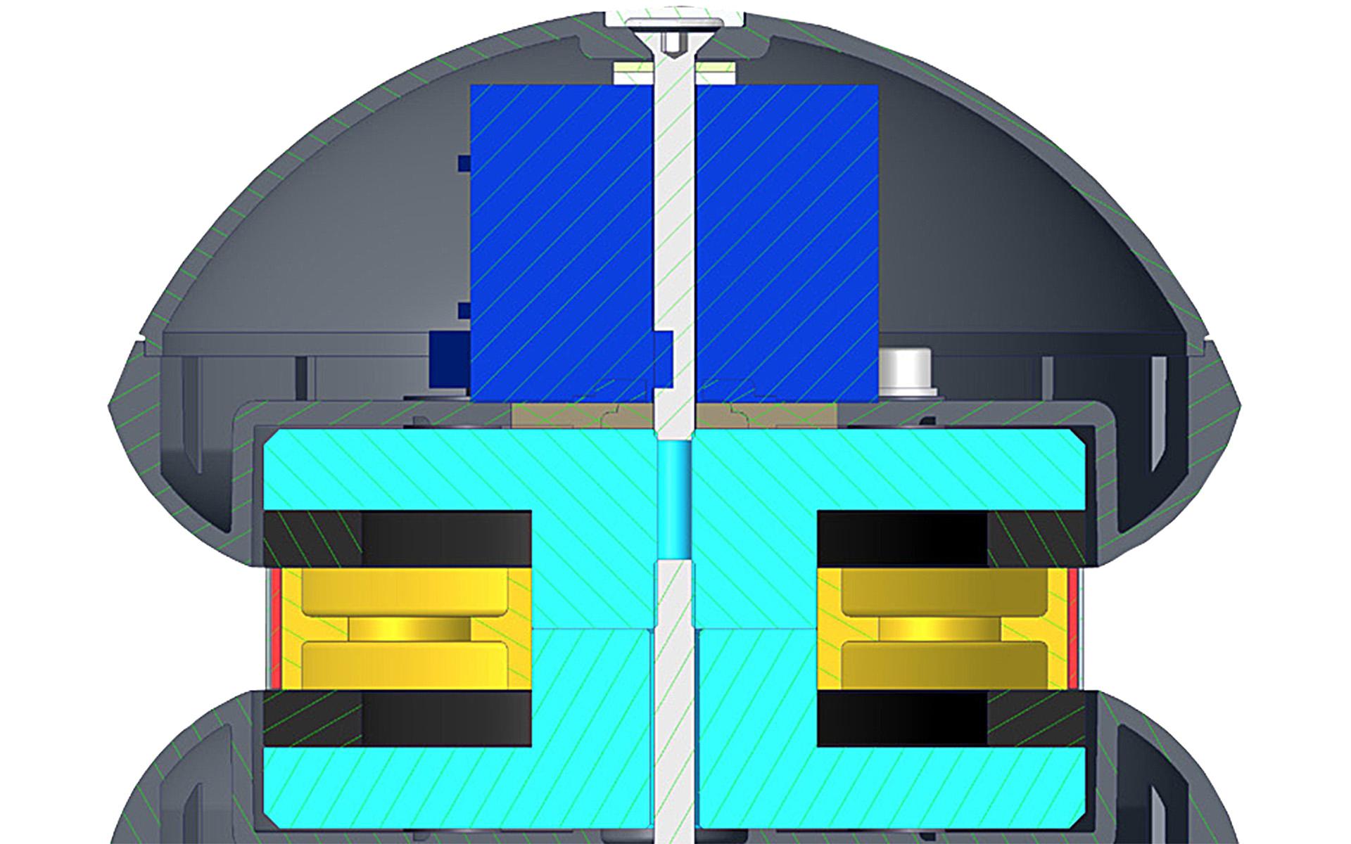 Внутреннее устройство ELAC 4Pi Plus.2