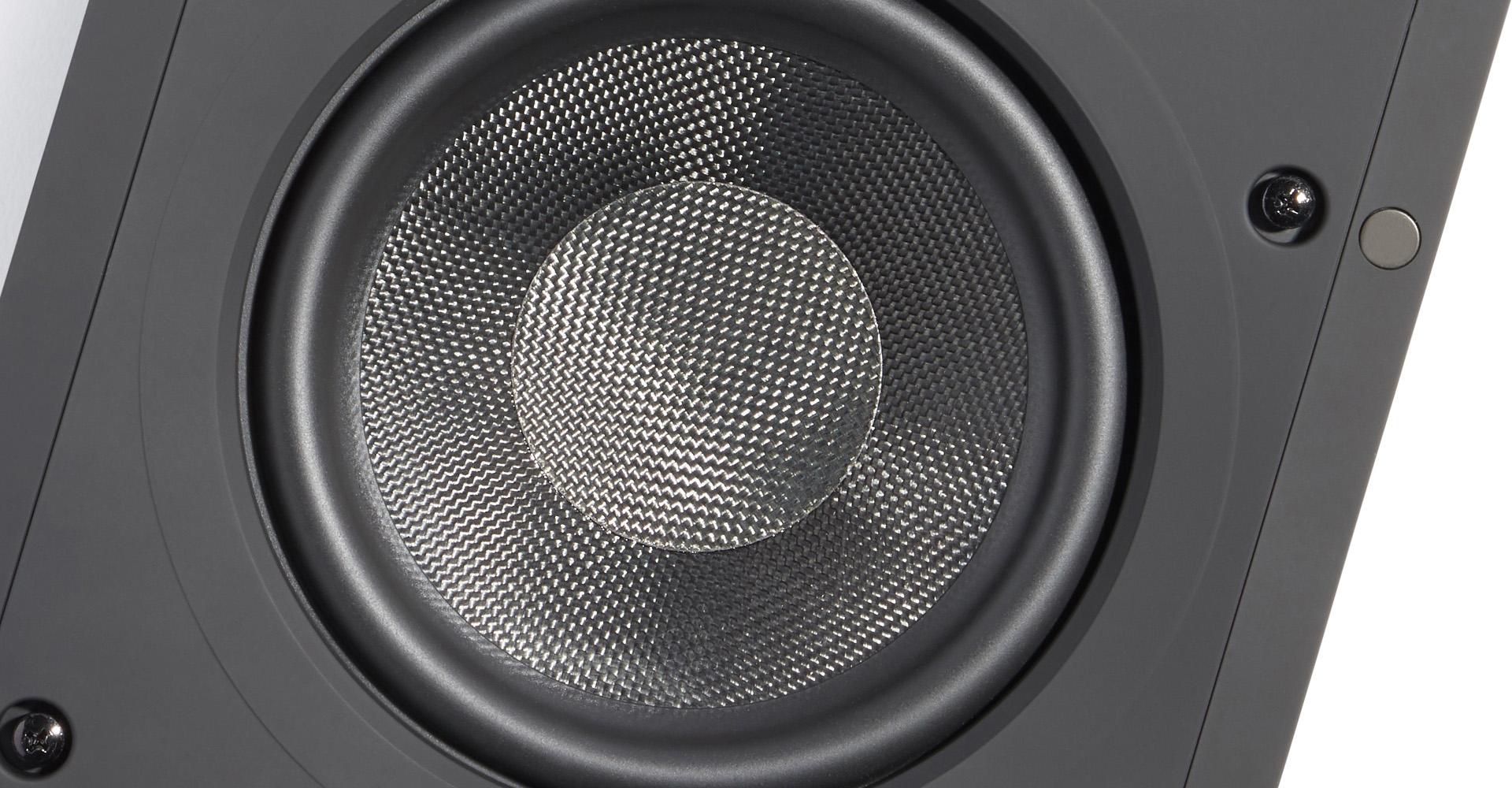 Арамидное волокно используется для изготовления диффузоров всех моделей архитектурной акустики ELAC Debut