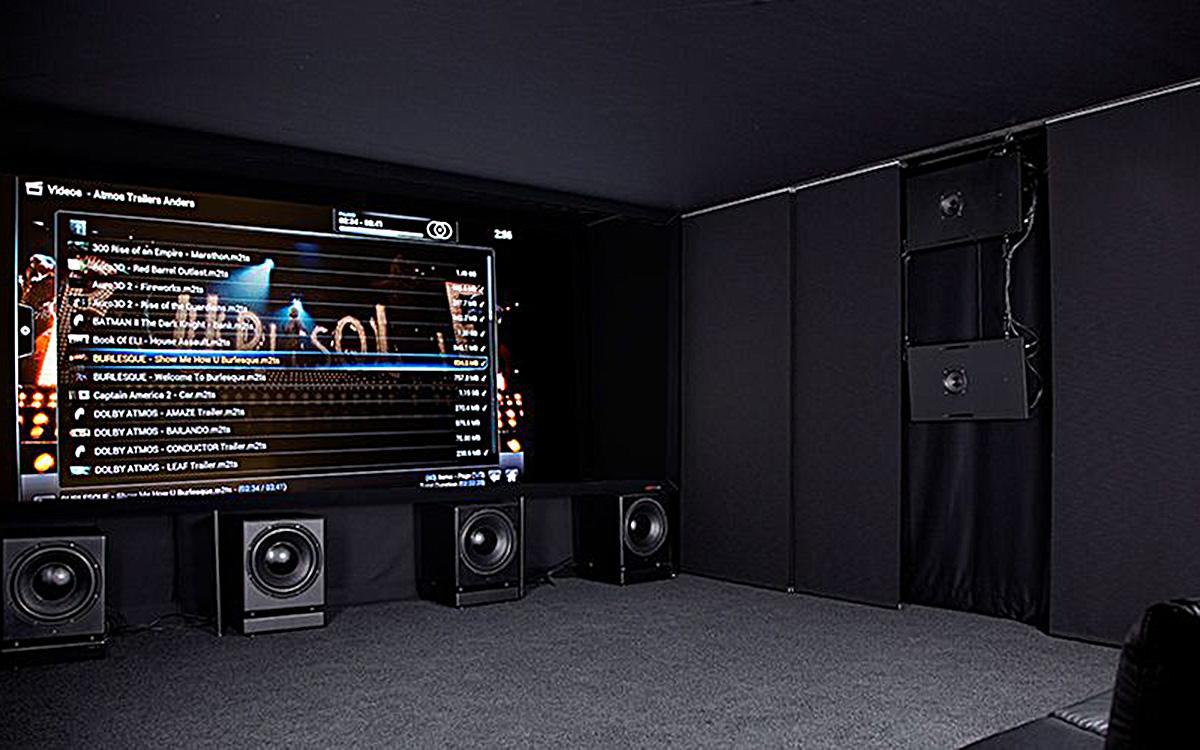 Профессиональному уровню звучания кинотеатра от Ascendo полностью соответствует его внушительный имидж