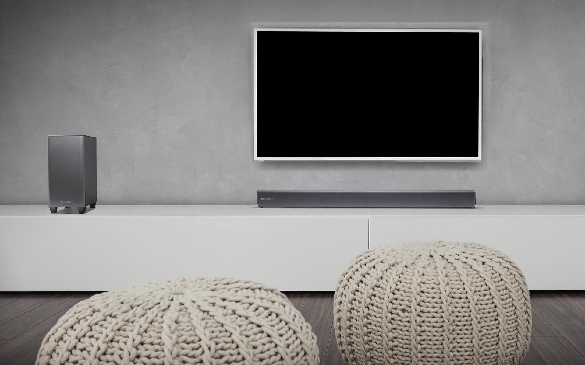 Cambridge Audio TVB2 – саундбар с беспроводным сабвуфером