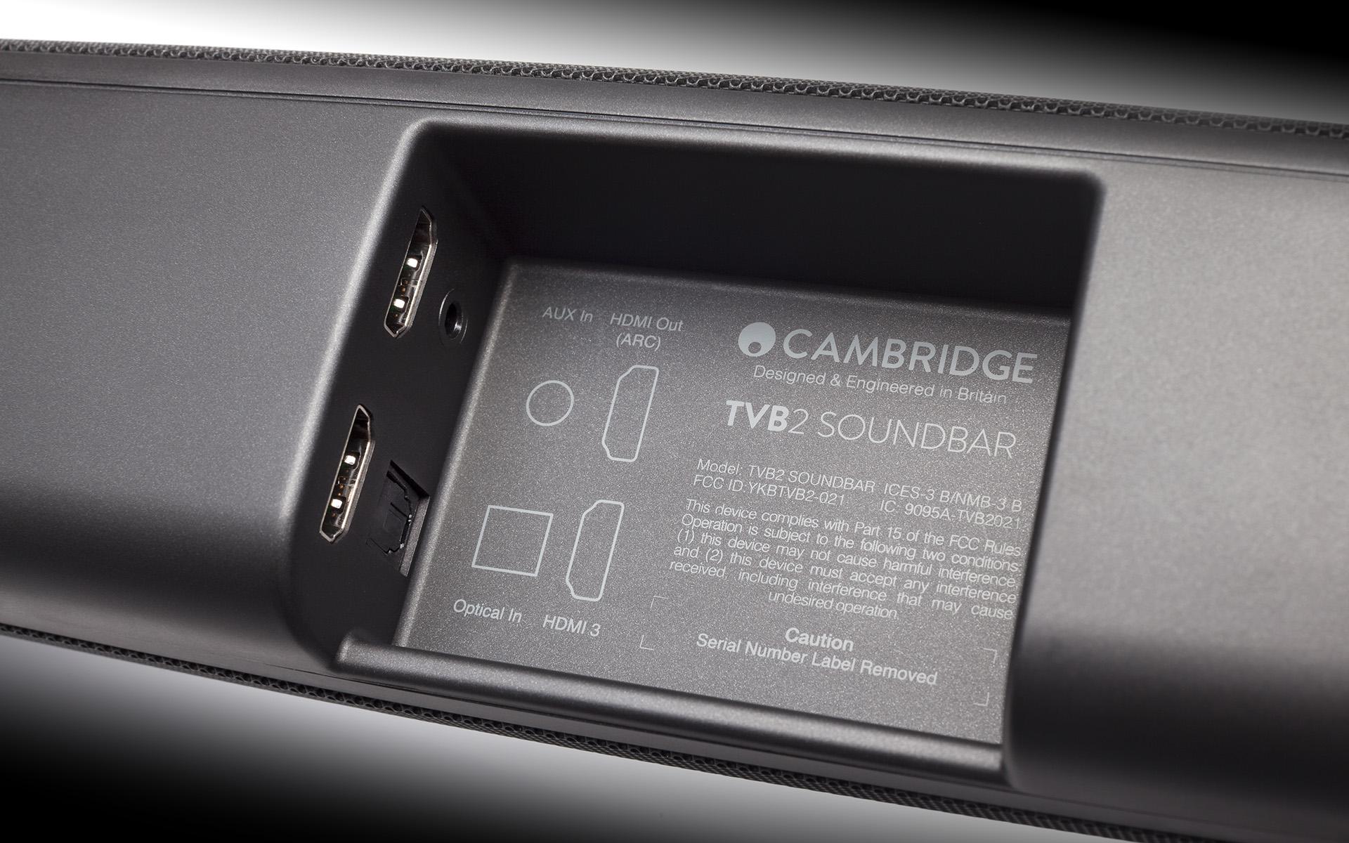 Кроме беспроводного подключения, у TVB2 имеется набор цифровых и аналоговых входов