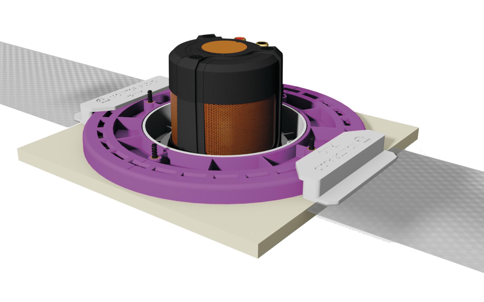 Удобные установочные кронштейны предельно упрощают процесс монтажа CF230
