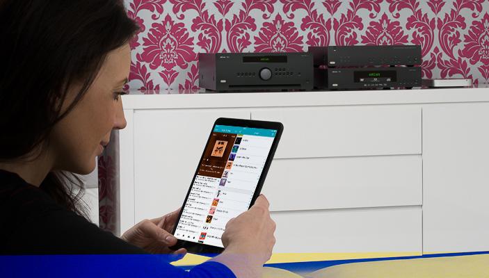 Управляйте музыкальным контентом со своего мобильного устройства