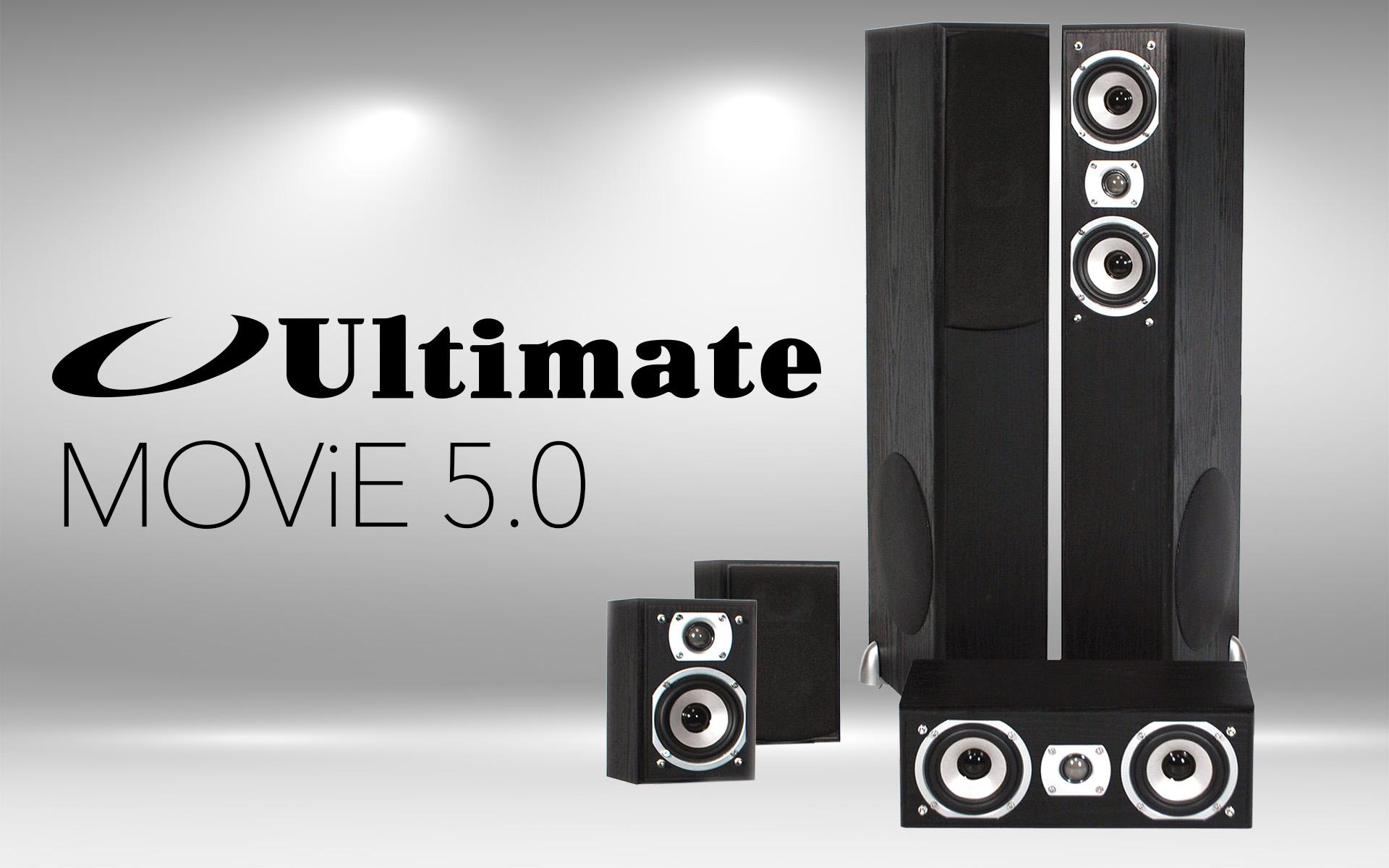 Комплект колонок для домашнего кинотеатра Ultimate Movie 5.0