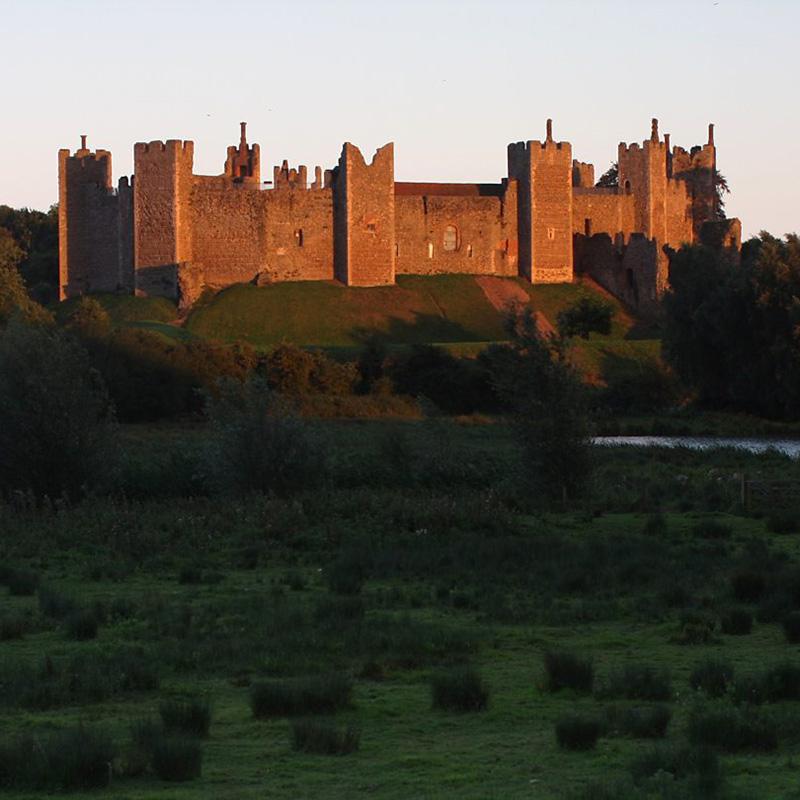 Замок Фрамлингем, Саффолк, Англия