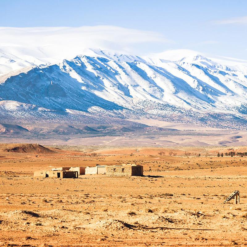 Горы Атлас, Марокко