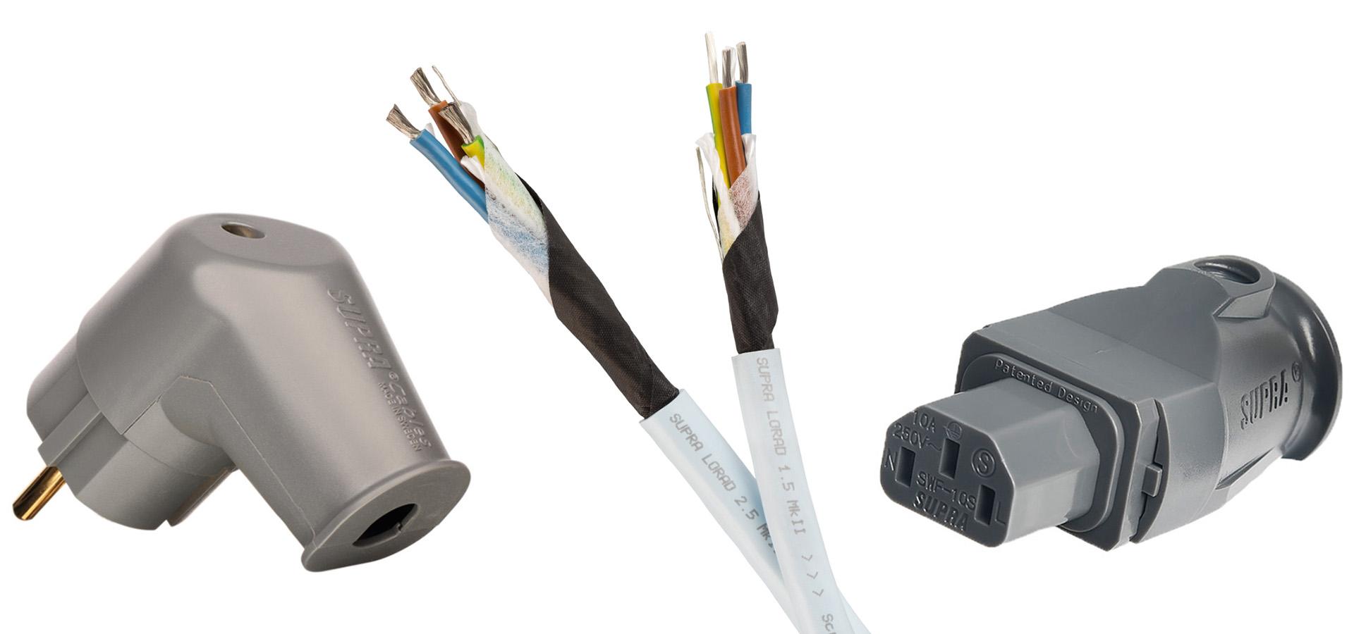 Продукция Supra позволяет легко получить сетевой кабель практически любой длины