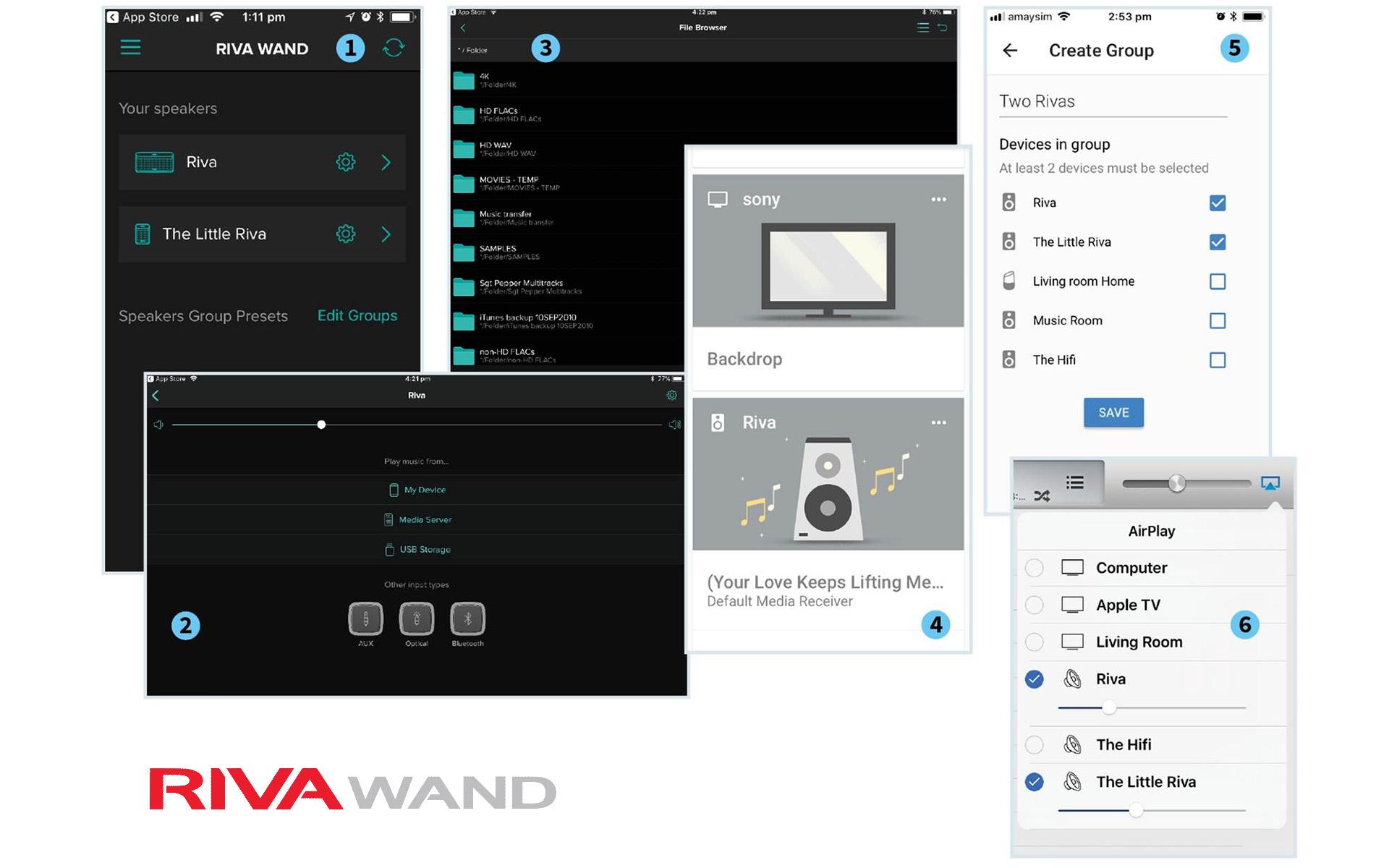 Удобное приложение помогает собрать из моделей серии WAND мультирум-систему