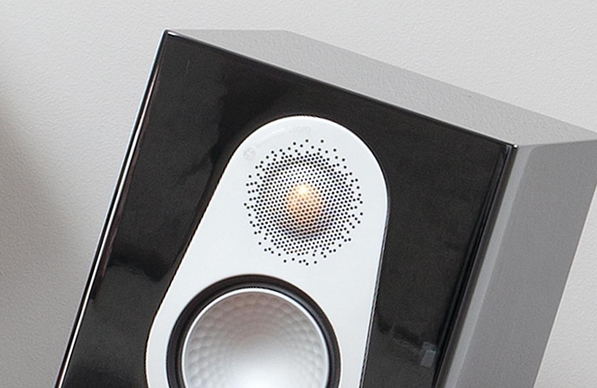 Диффузоры динамиков Silver 300 изготовлены из патентованного материала C-CAM