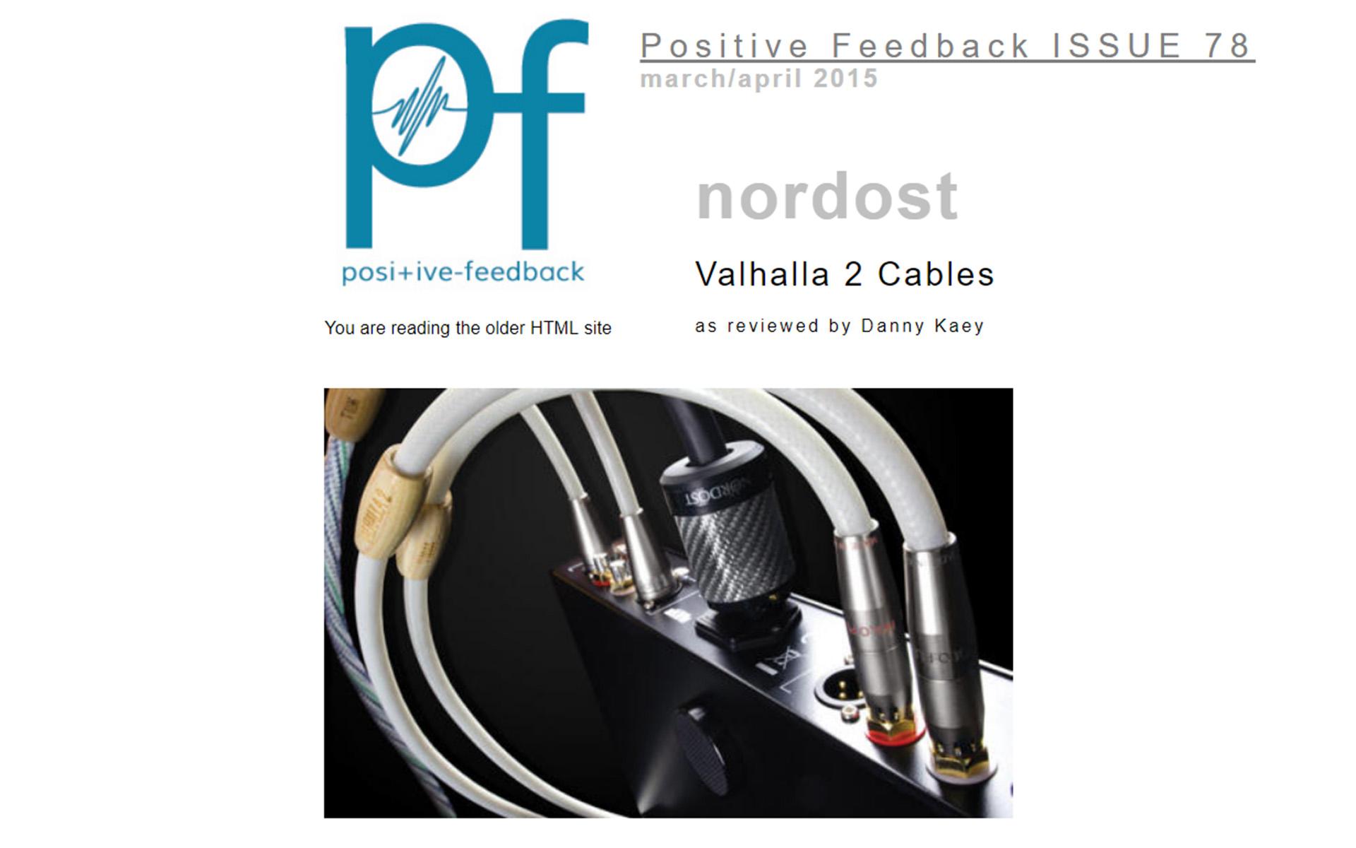 Nordost positive-feedback