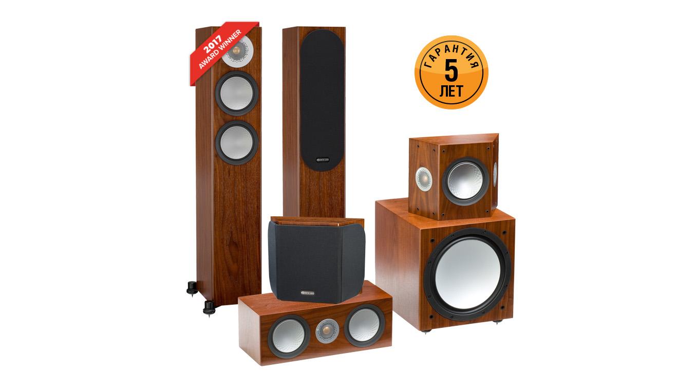 Monitor Audio предоставляет пятилетнюю гарантию на акустику серии Silver 6G