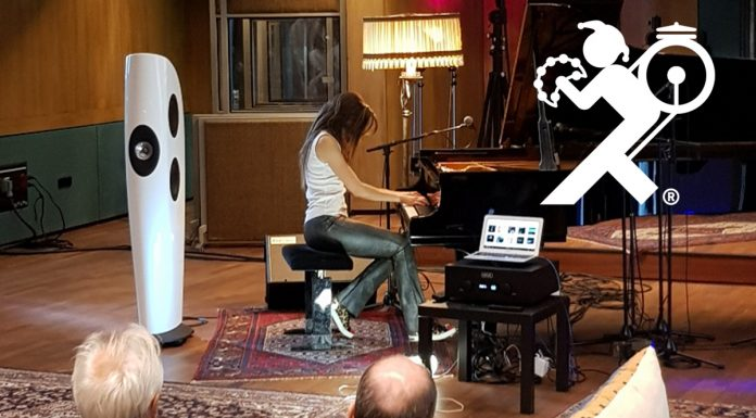 Новый интегральник Hegel H590 стал участником живого концерта в Wisseloord Studios