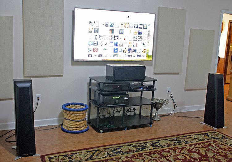 Система, в составе которой тестировался Arcam AVR550