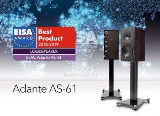 ELAC Adante AS-61 – лауреат премии EISA 2018 – 2019
