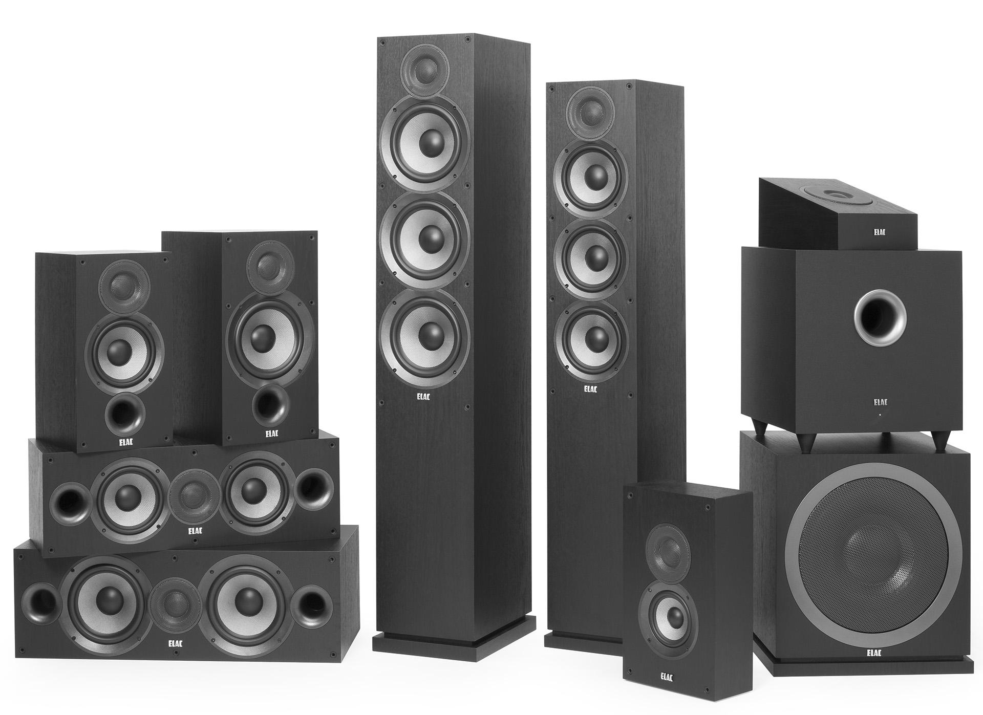 В серии ELAC Debut 2.0 – одиннадцать моделей