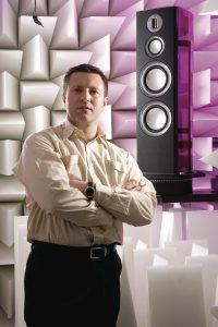 Дин Хартли, технический директор Monitor Audio