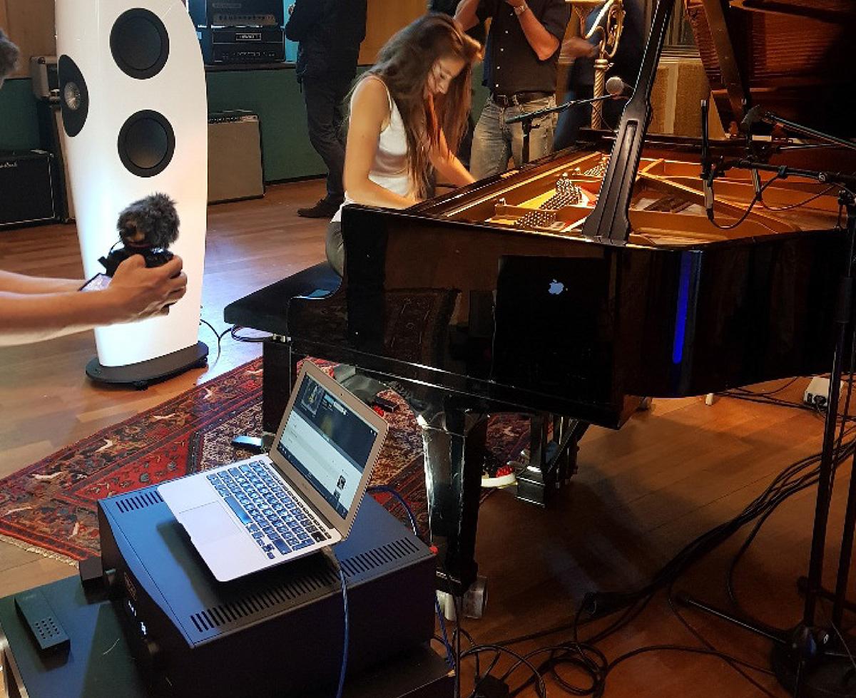 Новый ЦАП позволил Hegel H590 стать участником живого концерта в Wisseloord Studios