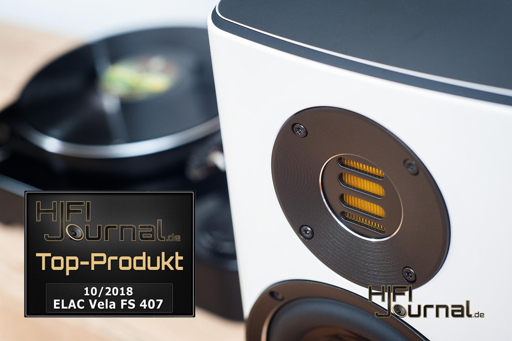 ELAC Vela FS 407 – «Лучший продукт» по версии портала «HiFi-Journal»