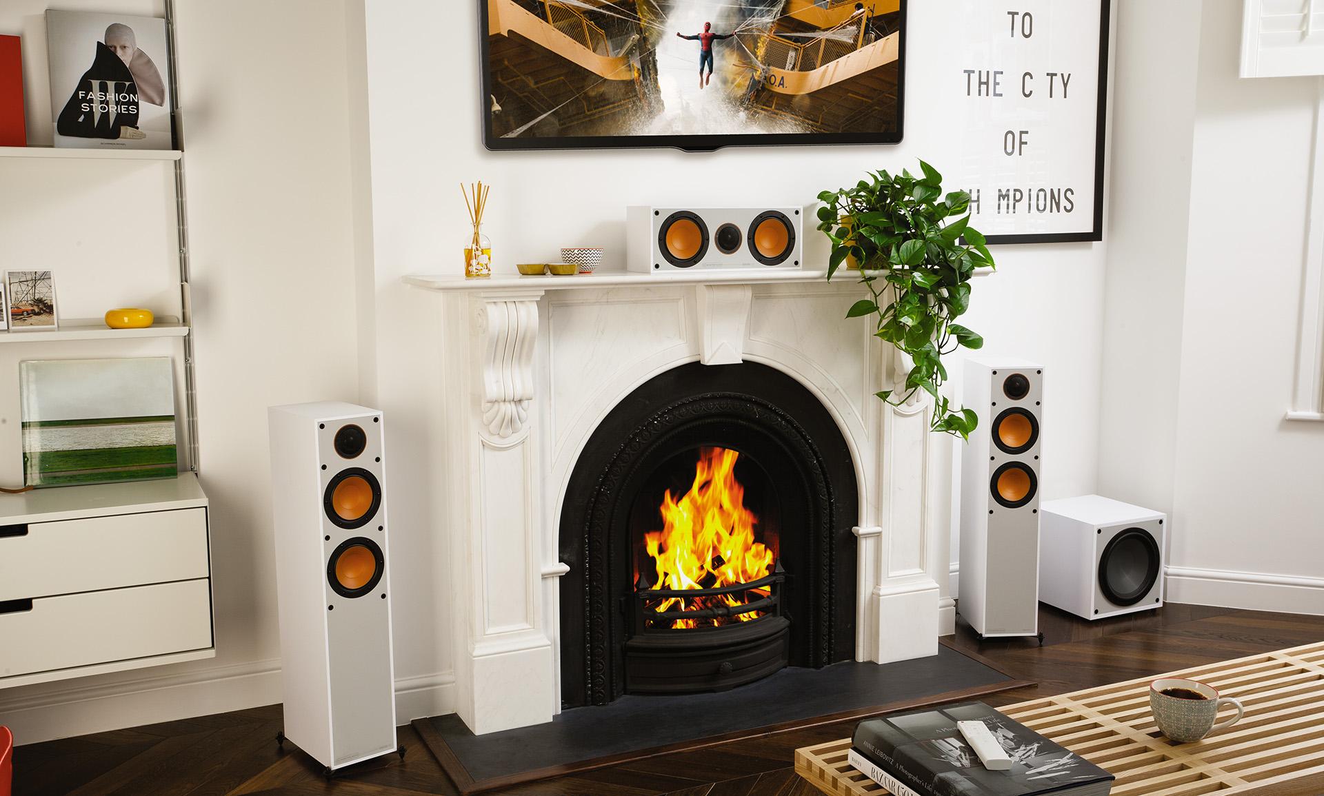Комплект акустики для домашнего кинотеатра Monitor Audio Monitor 3G создаст полноценный «эффект присутствия».