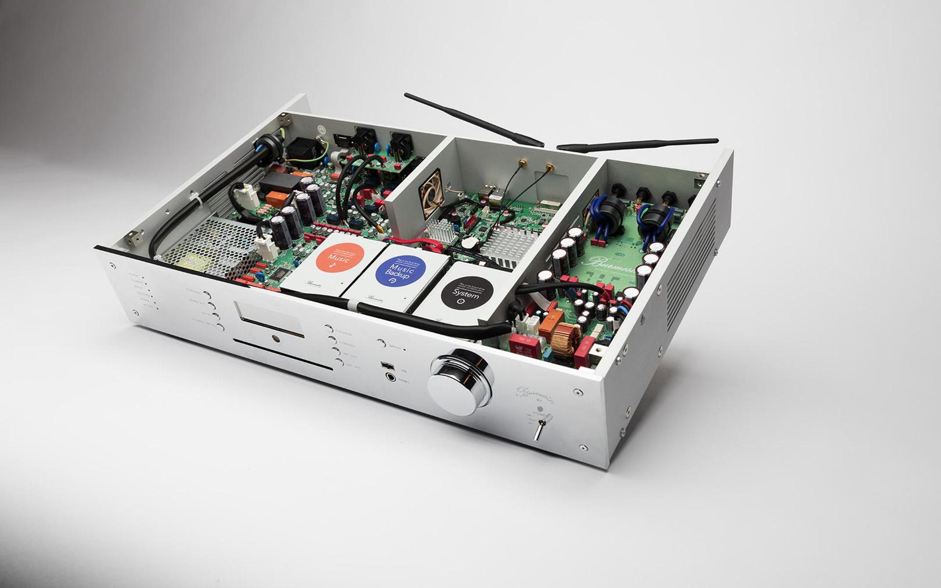 CD-ресивер Burmester 161 уже доступен в России