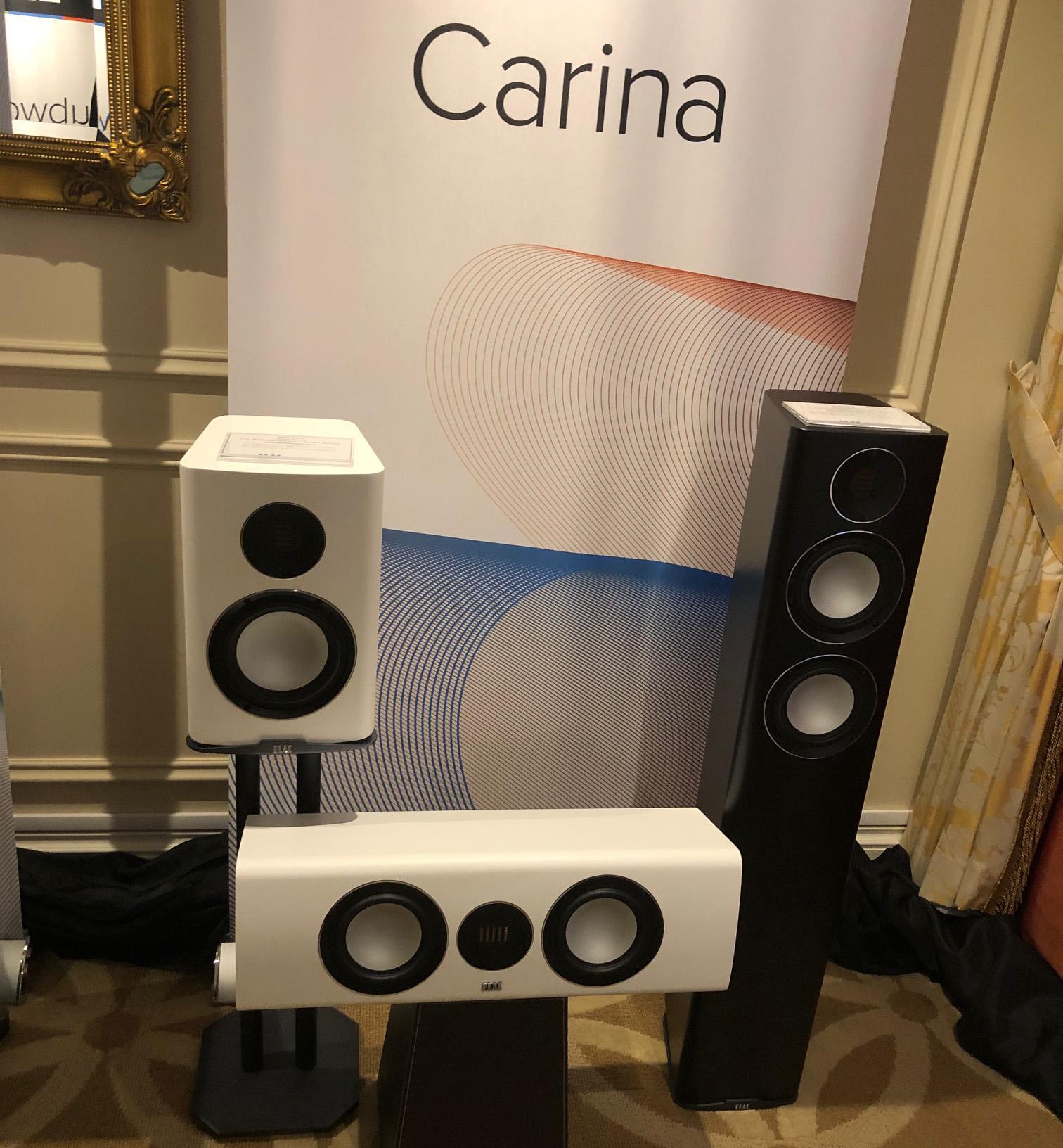 Полочник ELAC Carina BS 243.4 получает награду AVS Forum «Best of CES 2019»