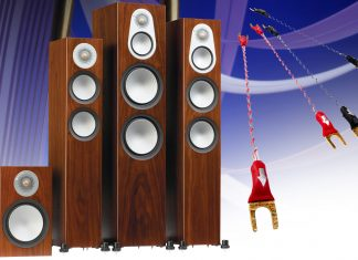 Перемычки Nordost позволяют акустике Monitor Audio Silver полностью раскрыть свой потенциал