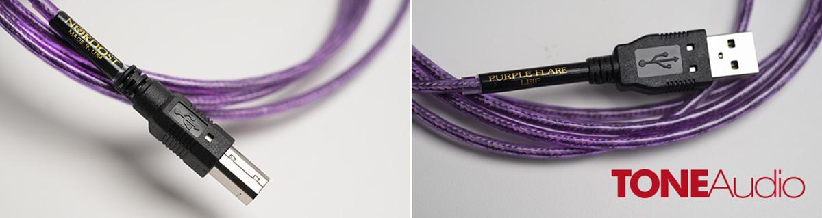 Nordost Purple Flare USB улучшает звучание системы