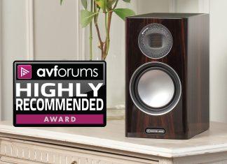 Avforums настоятельно рекомендует полочники Monitor Audio Gold 100