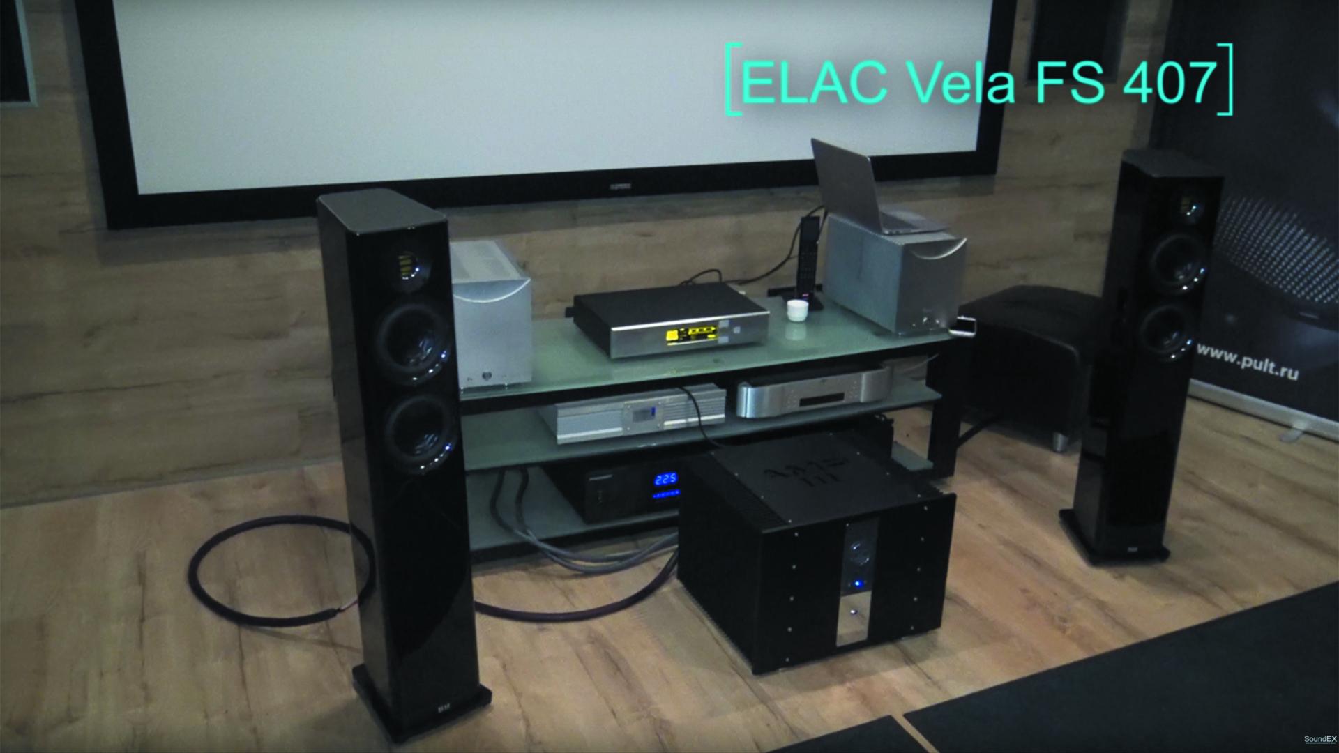 ELAC Vela FS 407 – в обзоре портала Soundex