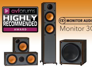 Кинотеатральный комплект Monitor Audio Monitor 3G: AVforums настоятельно трекомендует
