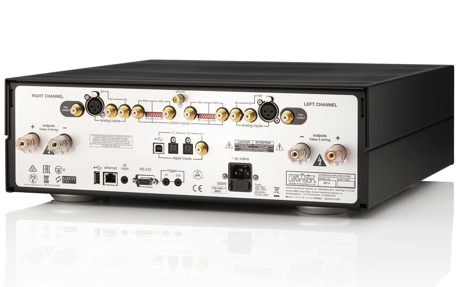 Как только я всё настроил, звук стал просто великолепным: интегральный усилитель Mark Levinson №5805 в обзоре Stereophile.com