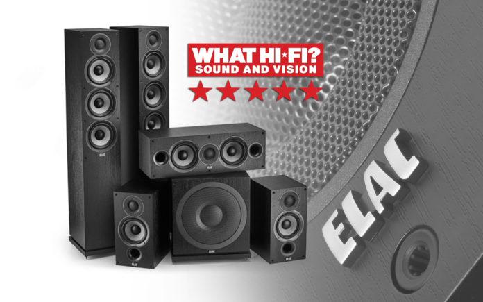 Настоящий победитель: журнал «What Hi-Fi?» даёт «пять звёзд» комплекту ELAC Debut 2.0