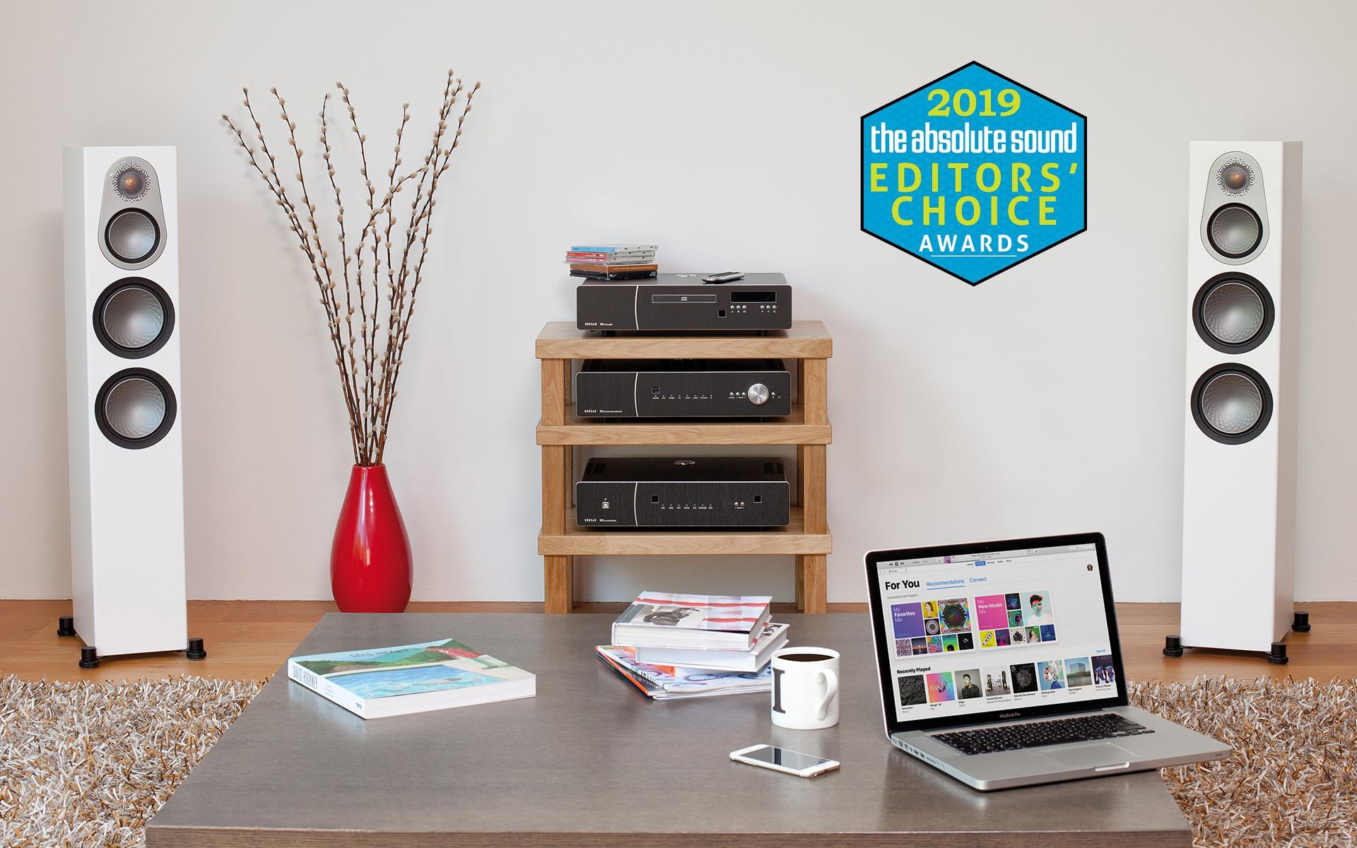Модели Monitor Audio и ELAC – среди лучших колонок по версии журнала «The Absolute Sound»
